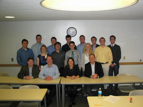 Krause Finance Class Photo