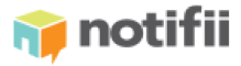Logo for the Notifii package tracking software.